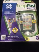 Leap Frog Leap Pad Explorer Green Learning Tablet In Orig Box