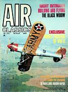 1971 Air Classics Vol.7 No.3 Black Widow Soviet Fighters Air Corps Ford