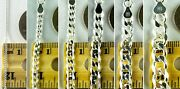 Sterling Silver Cuban Link Chain Necklaces 1mm 8mm Made In Italy Nickel Free