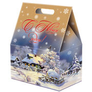 Christmas Russian Box New Year Sweets Candies Assortment Winter Evening 3lb