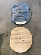 1975-80 Amc Pacer Spare Tire Metal Cover Pans