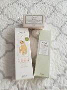 Fresh Rose Deep Hydration Sleep Mask And Soy Face Cleanser 3pc Set