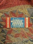 1964-65 Indiana Basketball Media Guide Yearbook 1965 Branch Mccracken + Twins