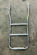 Marine Stainless Steel 2 Step Fixed Boat Boarding Ladder Inv 3