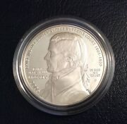 The Usa Commemorative Proof Silver One Dollar 2005 Coin - John Marshall.