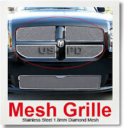 For 2008 Dodge Magnum Se Sxt R/t Stainless Steel Mesh Grille Grill Insert