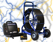 225and039 Pb2400 Ultra Elite Series Battery Powered Drain Sewer Video Camera System