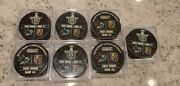 Vegas Golden Knights Stanley Cup Playoff Round 1 Game 1- Game 7 Complete Set