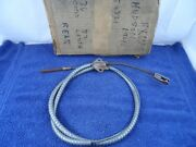 Rear Brake Cable 1940 Hudson Super 6 Eight Deluxe 8 Series Emergency Park 160151