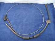 Rear Brake Cable 1940 Willys Deluxe Speedway 440 Emergency Parking Park 637879