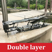 Nzg Mercedes-benz Actros Double Layer Tow Truck Trailer Tail 118 Diecast Model