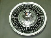 One 1 Hubcap Hub Cap Buick 1967 - 1972 Buick Special 14 Wire 1013 Oem