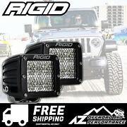 Rigid Industries D-series Pro Led Light Bar Pods Driving Diffused Pair 502513