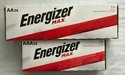 Energizer Alkaline Aa And Aaa Max Batteries24+24-pack New Exp.12/2030