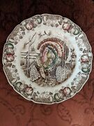 Johnson Brothers His Majesty Dinner Plate Genuine Hand Engraving Great Condition