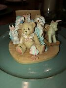 Rare Cherished Teddies Christopher Old Friends Are The Best Friends 950483