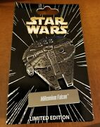 Millenium Falcon Star Wars Vehicles Pin Of The Month Le 6000 Disney Pin