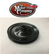 1971 1972 Nova Power Steering Pump Pulley Small Block Without A/c