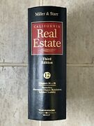 Miller And Starr California Real Estate Vol.12 Third Edition Ch 34-36 Ring Binder