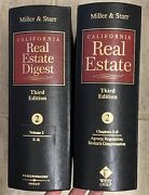 Miller And Starr California Real Estate Vol.2 Third Edition 2 Binders Ch 3-5 E-k