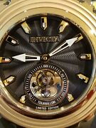 Reserve Subaqua Specialty Limited Edition Tourbillon 18k Gold Pld Watch