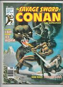 Savage Sword Of Conan The Barbarian Vol. 1 - Mixed Lot Of 9 Issueand039s