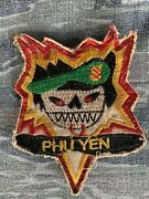Theater Made Vietnam Special Forces Macv Sog Ccs Recon Team Bomb Burst Patch