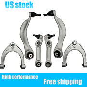 Fits Bmw F10 Front Upper And Lower Rearward And Forward Control Arm W/ Bushings Kit