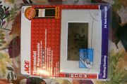 7 Day Thouchscreen Thermostat Heating And Cooling 24v 4235370 In Open Box