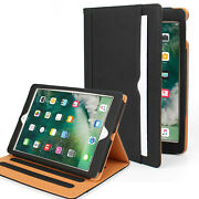 [for Ipad All Models] Shockproof Cover Leather Wallet Case With Auto Wake/sleep