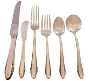 Festival By Lunt Sterling Silver Flatware Set For 8 Service 48 Pieces