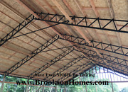Steel Truss 40and039 Standard For Pole Barn - Used On 10and039 Centers