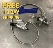 Em1 Clutch Master Cylinder Upgrade And Stainless Line For 2006-2011 Honda Civic Si