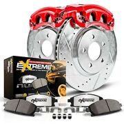 Power Stop Kc2798-36 Brake Upgrade Kit With Calipers For 2007-2017 Jeep Wrangler