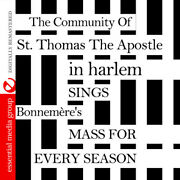 Community Of St. Tho - Sings Bonnemere's Mass For Every Season [new Cd]