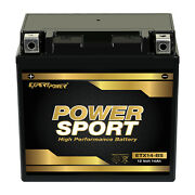 Ytx14-bs High Performance - Maintenance Free - Agm Motorcycle Battery