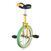 16 Unicycle Cycling Scooter Circus Bike Skidproof Youth Adult Balance Exercise
