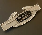 Ranger Combat Infantry Airborne Badge Army Cib Military Medal Patch Oxidized Pin