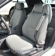 Chrysler Sebring Convertible 01-06 Grey Iggee S.leather Custom Seat Cover