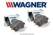 [front + Rear Set] Wagner Thermoquiet Ceramic Disc Brake Pads Wg98934