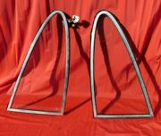 Early Porsche 911 Driver And Passenger Side Rear Windows