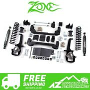 Zone Offroad 6 Suspension System Standard Bore For 19 Ram 1500 And Rebel 4wd D72n