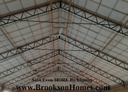 6 60and039 Steel Trusses For 60and039 X 50and039 Building - 10and039 Centers For Pole Barn