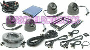 Rostra 250-8933-gps 1-4 Ch Dvr System W/4 Dome Camsall Cables And Gps Antenna