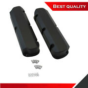 Suit Ford 351w Tall Aluminum Fabricated Valve Covers Black Coated