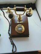 Retro Wooden Phone Vef Lyon Antic For Collections S
