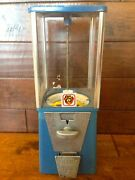 Vintage Peanut Gumball Candy Toy Bulk Vending Machine Commercial Grade