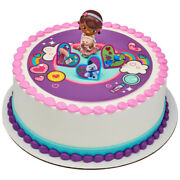 Nip Doc Mcstuffins Doc And Lambie Include 3 Rings Birthday Cake Decoration Set