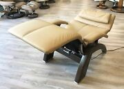 Human Touch Omni Motion Pc-600 Power Perfect Chair Recliner Genuine Sand Leather