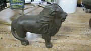 Sold As Is 4 Used Antique Cast Iron Banks. See Description Below.